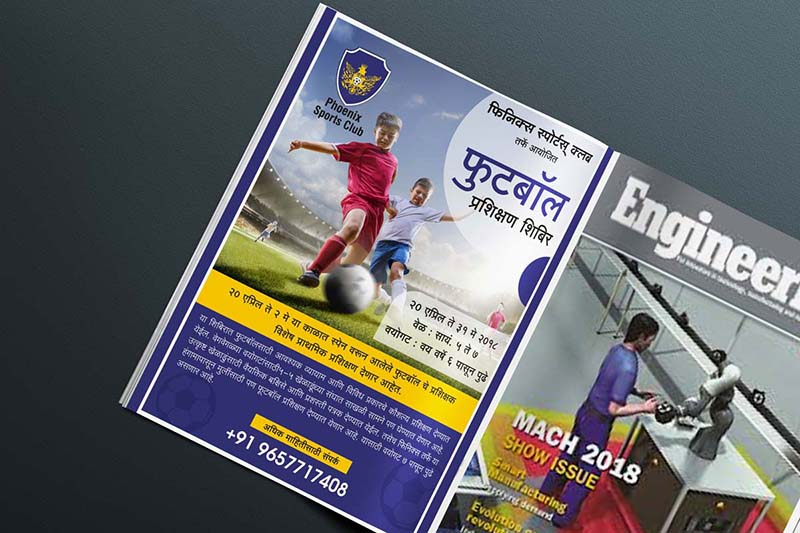Best Print ad Designing and Release