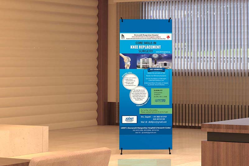 Best Standee Designing and Printing Pune